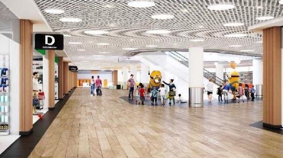 So soll das Einkaufszentrum nach dem Umbau aussehen. (Zvg)