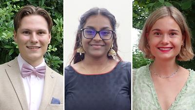 Glückliche Gesichter: Die erfolgreichen Absolventen der Neuen Kantonsschule Aarau erhielten ihr Diplom. (Cynthia Mira)