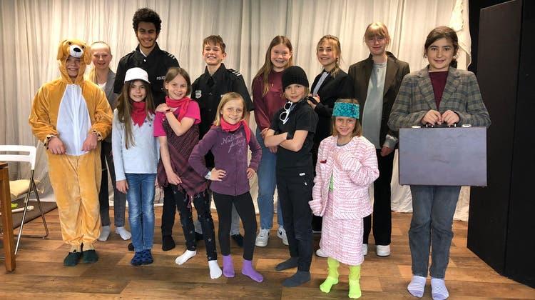 Das Ensemble des KindertheatersBlitz. (zvg)