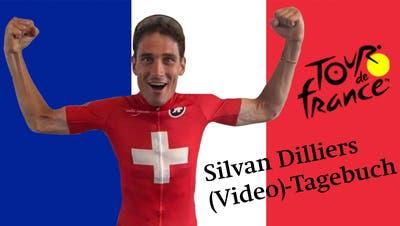Silvan Dilliers Video-Tagebuch Teil 4: Blutspuren nach der 1. Etappe