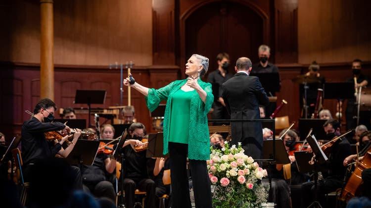 Spanische Nacht im Konzertsaal. Im Bild: Amparo de Triana (Michel Lüthi)