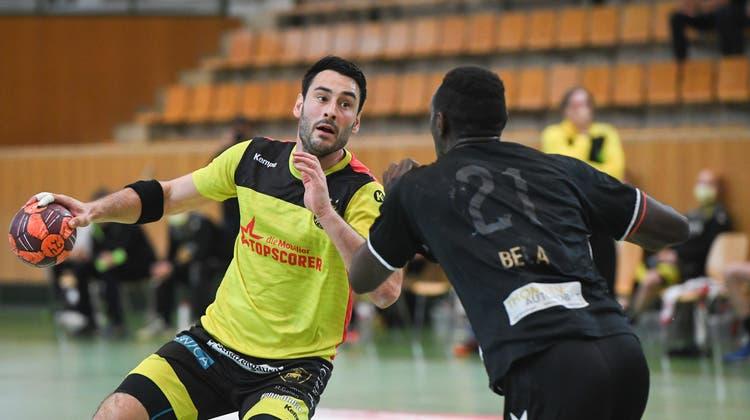 St.Otmars Andrija Pendic steigt als Favorit in die Wahl zum wertvollsten Spieler der NLA. (Benjamin Manser)