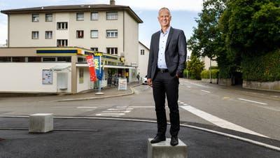 Markus Boss ist der zukünftige Gemeindepräsident von Rüttenen. (Hanspeter Bärtschi)