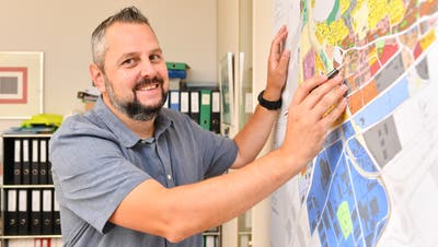 Andreas Affolter, bisher noch Bauverwalter in Oensingen. (Bruno Kissling)