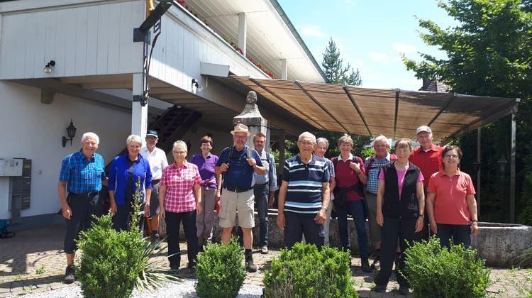 Juni-Wanderung der Wandergruppe Villigen