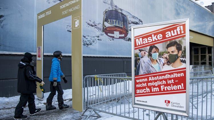 Verzeichneten 25 Prozent weniger Ersteintritte: Bergbahnen Engelberg-Trübsee-Titlis. (Keystone)