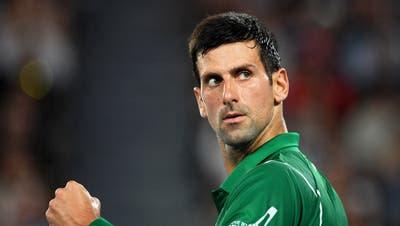 Novak Djokovic stellt seine Pläne mit der PTPA vor. (Lukas Coch / EPA)