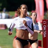 Salomé Kora erreicht in Langenthal die Bronzemedaille. (Claudio De Capitani/Freshfocus)