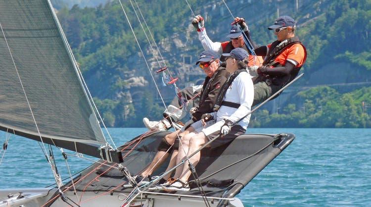 Peter Seinet gelingt Revanche an der längsten Zentralschweizer Regatta