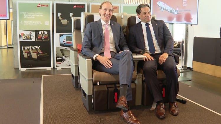 Die Bezüge für die neuen Hartschalensitze werden vom Berner Unternehmen Lantal produziert. (zvg)