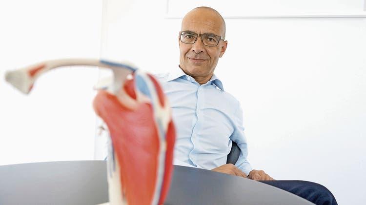 PD Dr. med. Karim Eid, Chefarzt Klinik für Orthopädie und Traumatologie des KSB.