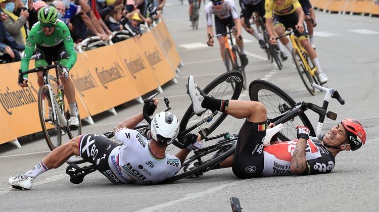 Diverse Teilnehmer der Tour de France haben sich dieses Jahr schon verletzt. (EPA / Keystone)