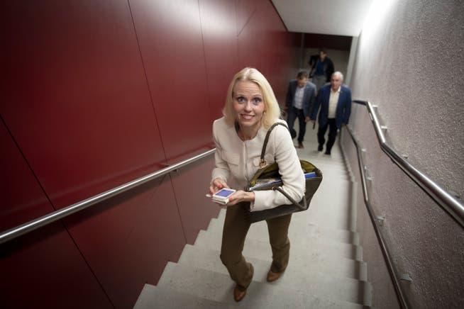 Lilian Studer ist am Freitag an einer Klausurtagung in Bern, will das Spiel gegen Spanien aber unbedingt sehen.