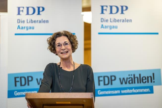FDP-Aargau-Präsidentin Sabina Freiermuth war in einer Bar in Zofingen, als die Schweiz gegen Weltmeister Frankreich gewann.