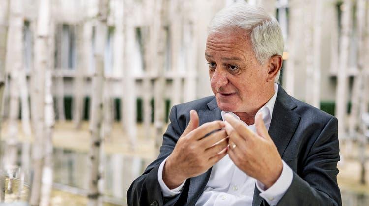 Jörg Reinhardt, Verwaltungsratspräsident von Novartis (Bild: Kenneth Nars)