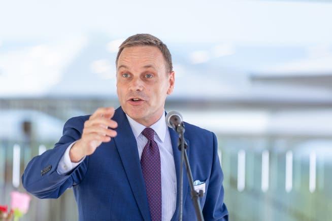 Regierungsrat Jean-Pierre Gallati.