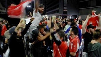 Lässt Xherdan Shaqiri heute seine Mannschaft und die Schweizer Fans auch wieder jubeln? (Ozan Kose / EPA)