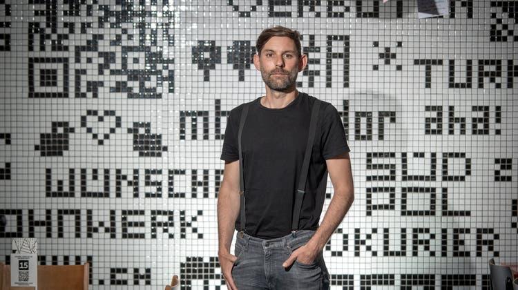 Dominic Chenaux ist der abtretende Geschäftsführer vom LuzernerNeubad. (Bild: Pius Amrein  (Luzern, 28. Juni 2021))