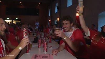 Ekstase pur: So feierte man den Sieg über Frankreich in Solothurn
