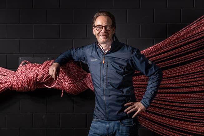 Oliver Pabst ist CEO von Mammut und deutscher Staatsbürger. Dennoch hat er am Montagabend mit der Schweizer Nati mitgefiebert.