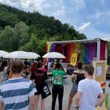 Kunterbuntes Treffen letzten Sonntag in Buchs: Queere Menschen aus der Region wünschen sich eine Anlaufstelle für ihre Anliegen. (Bild: PD)