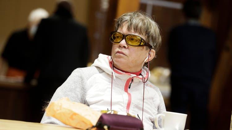 SP-Kantonsrätin Barbara Müller an einer Sitzung des Grossen Rats Thurgau. (Bild: Donato Caspari (13. Januar 2021))