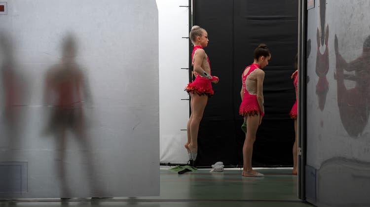 Die Nationalkader-Gruppe der Rhythmischen Gymnastik wird bis auf Weiteres nicht weitergeführt. (Symbolbild) (Keystone)
