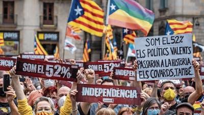 Katalanische Separatisten kommen frei– nur Puigdemont muss warten