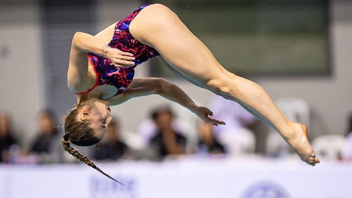 Michelle Heimberg will in Tokio vom 3m-Brett überzeugen. (zur Verfügung gestellt)