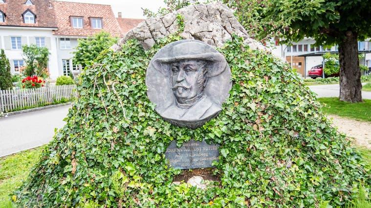 Das General-Sutter-Denkmal in Rünenberg ist der sichtbarste Ort der Verehrung des umstrittenen Pioniers im Baselbiet. (Nicole Nars-Zimmer)