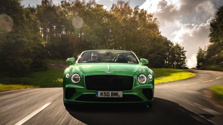 Bentley Continental GTC V8 (Bild: zVg)
