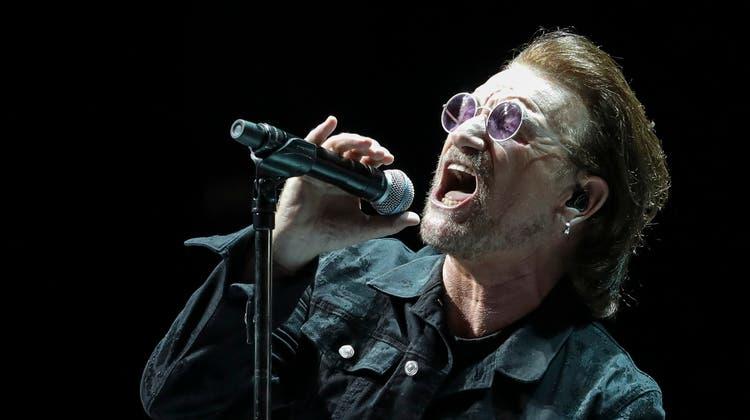 Der diesjährige EM-Song kommt von Bono von U2– das wissen bisher nur die wenigsten. (Bild: Keystone)