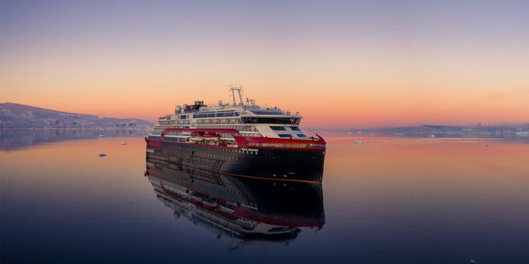 As a smaller shipping company, Hurtigruten believes it has an advantage for the time after the crisis.