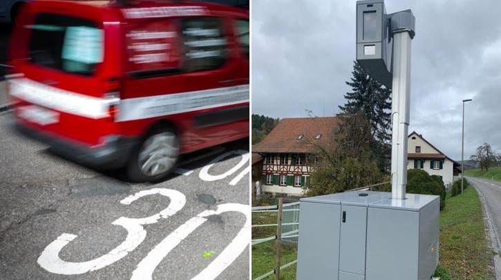 In Fisibach installierte die Repol die Messanlage Ende 2020 zum ersten Mal. (zvg)