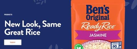 «Neues Aussehen, gleicher grossartiger Reis»: In den USA wurde der Markenwandel bereits vollzogen.