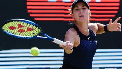 Für Belinda Bencic ist Wimbledon schon nach der ersten Runde vorbei. (Keystone/Archiv)