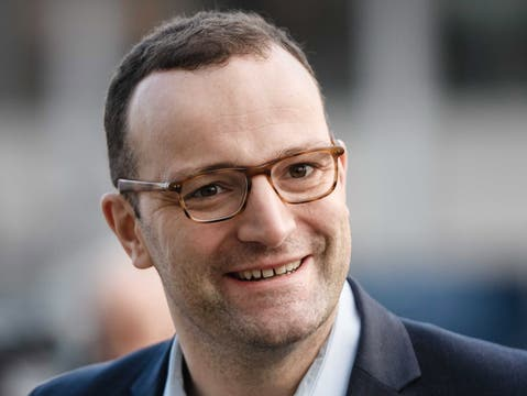 Met Laschet for explosive discussions at Lake Constance: Jens Spahn.