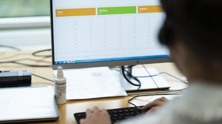 Die Contact-Tracer des Gesundheitsdepartements werden nun durch eine neue externe Firma unterstützt. (Keystone)