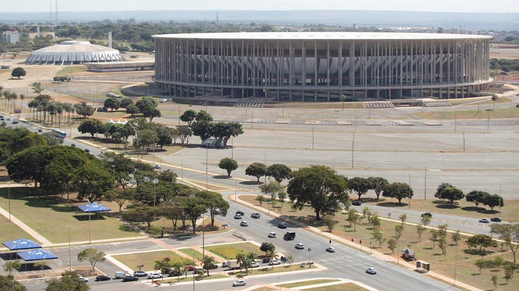 Das Mane GarrinchaStadion in Brasilia soll Austragungsort der Copa America 2021 werden. (EPA)