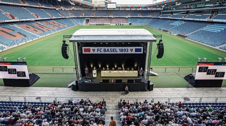 Die Generalversammlung des FC Basel findet in diesem Jahr erneut nicht im Joggeli, sondern auf schriftlichem Weg statt. (Bild: Freshfocus(4. Juni 2019))