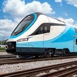 Chinesischer Doppelstöcker für die österreichische Westbahn, die bisher ausschliesslich auf Stadler-Rollmaterial gesetzt hat. (Bild: PD)