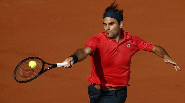 Jetzt live! Roger Federer trifft in der 3. Runde von Paris auf Dominik Koepfer: Schafft er den Achtelfinal-Einzug?