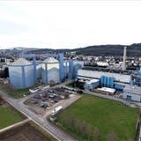 Die Zuckerfabrik Frauenfeld aus der Vogelperspektive. (Bild: Olaf Kühne)