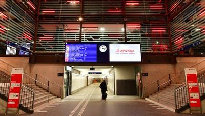 Bahnhof Olten bei Nacht (Symbolbild: Bruno Kissling)