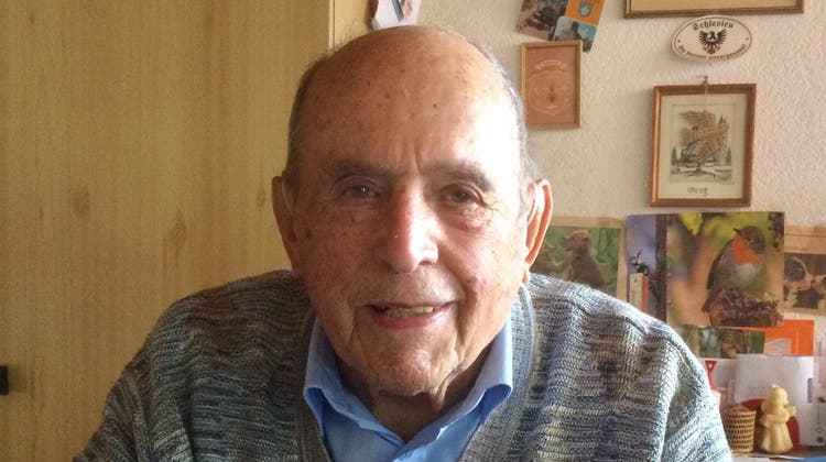 Hans Dubach feiert seinen 95. Geburtstag