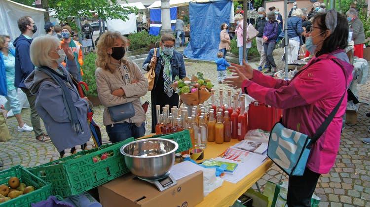 Frühlingsmarkt in Uitikon (Christian Murer / Limmattaler Zeitung)