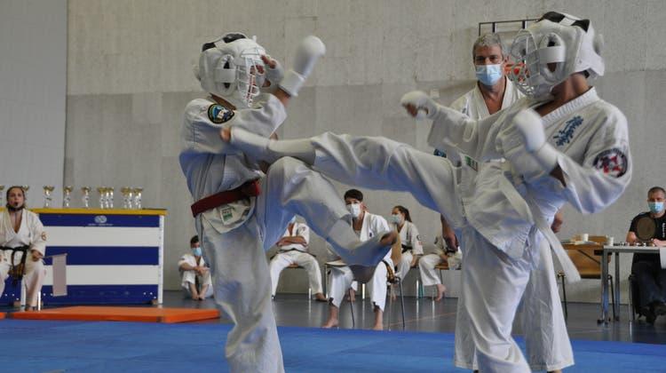 Sieben Podestränge für Wohler Karate-Junioren