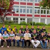 Der St.Galler Schwingernachwuchswar in Herisau auch dank der Toggenburger äusserst erfolgreich. (Bild: PD)