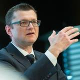 Sein Institut steht vor einer ungewissen Zukunft: Postfinance-CEO Hansruedi Köng. (Keystone)