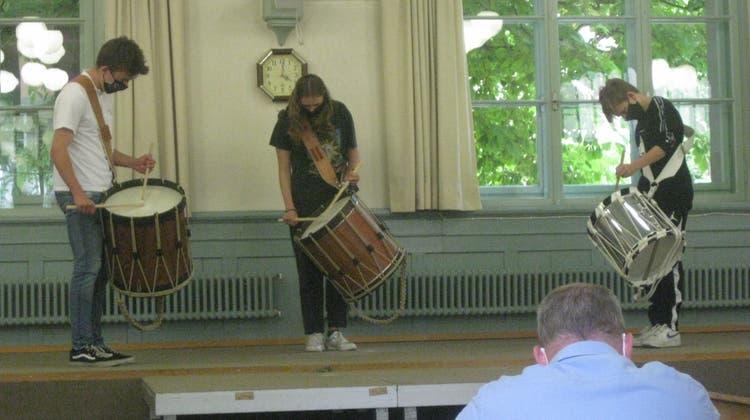 Der Zürcher Tambourencup geht gleich zweimal an die Kreismusik Limmattal